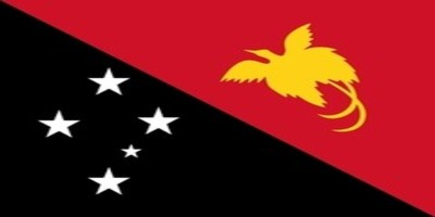 国旗:パプアニューギニア