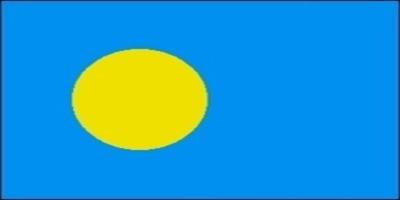 国旗:パラオ